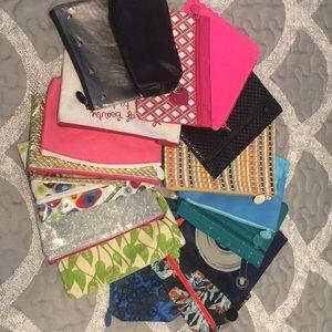 Ipsy bag - lot of 17 new, unused Ipsy bags